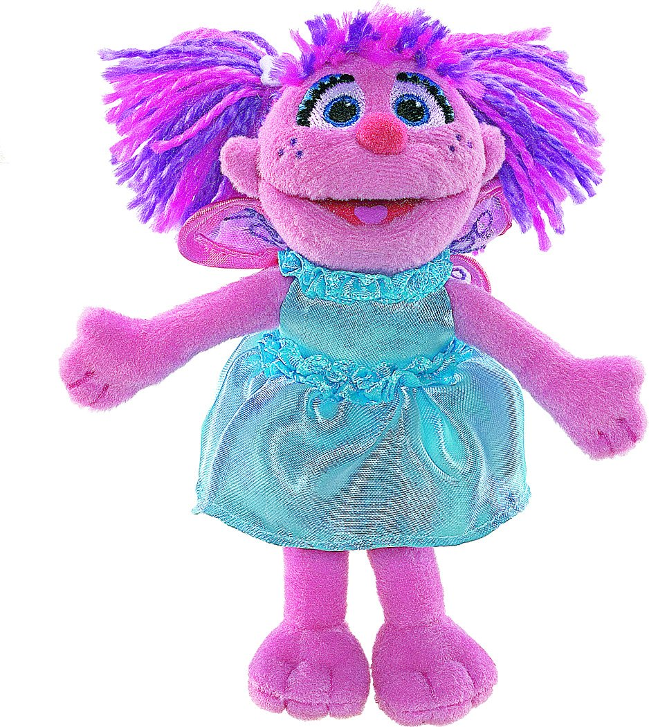 Sesame Street Finger Puppet Abby Cadabby Free Delivery
