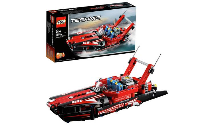 LEGO Technic Power Boat Building Set for £10 at Argos Free C&C