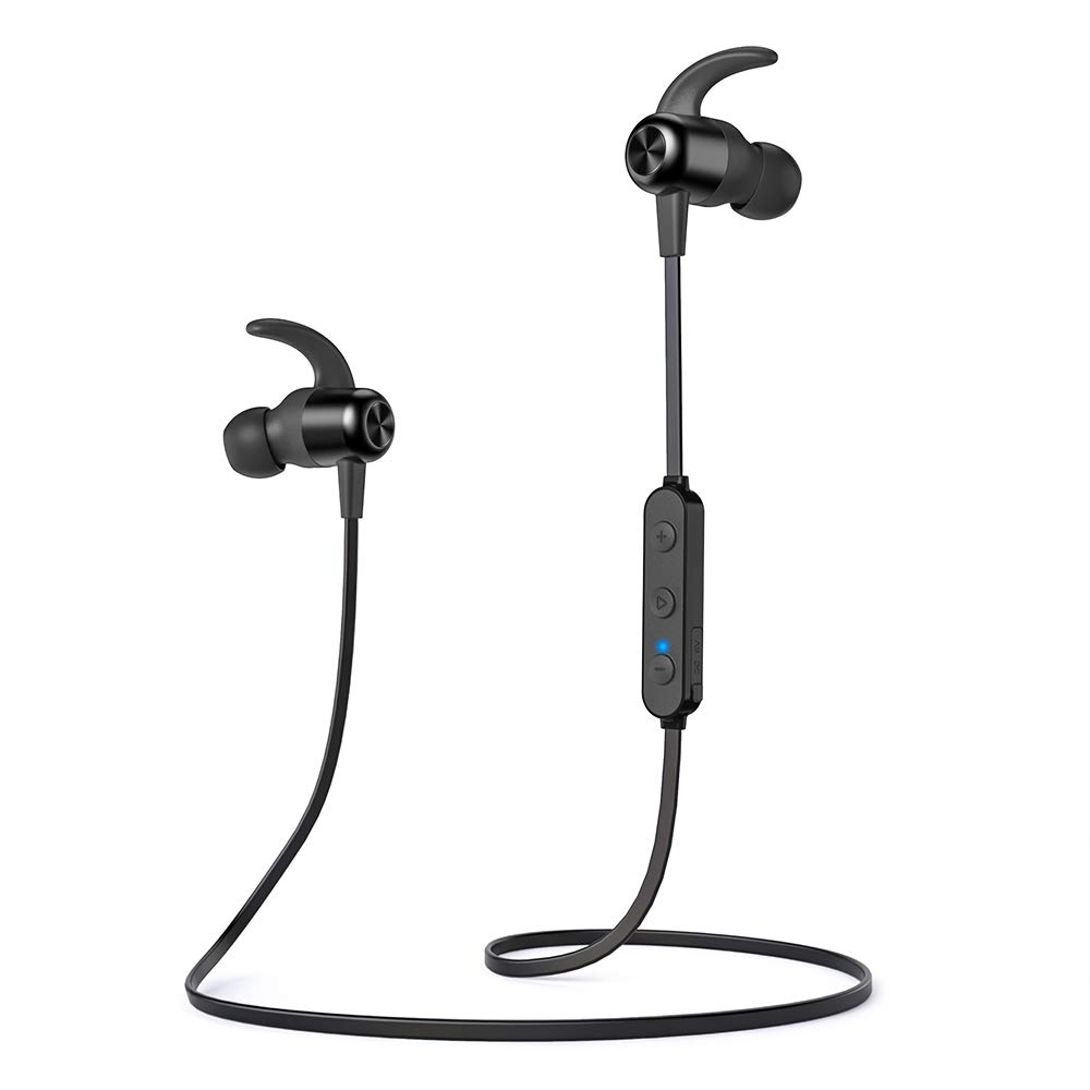 TaoTronics Bluetooth Headphones, Wireless Earphones