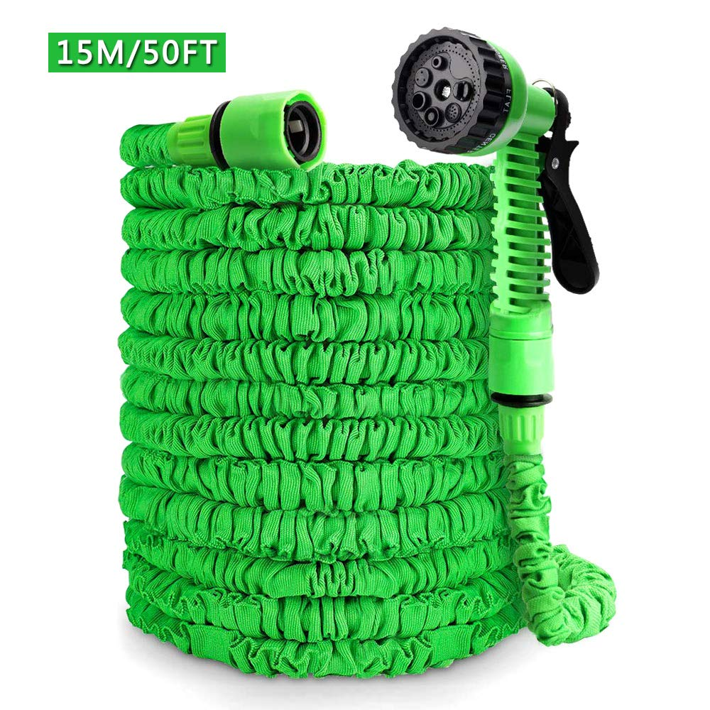 50ft Extendable Hose with 8-Phase Nozzle