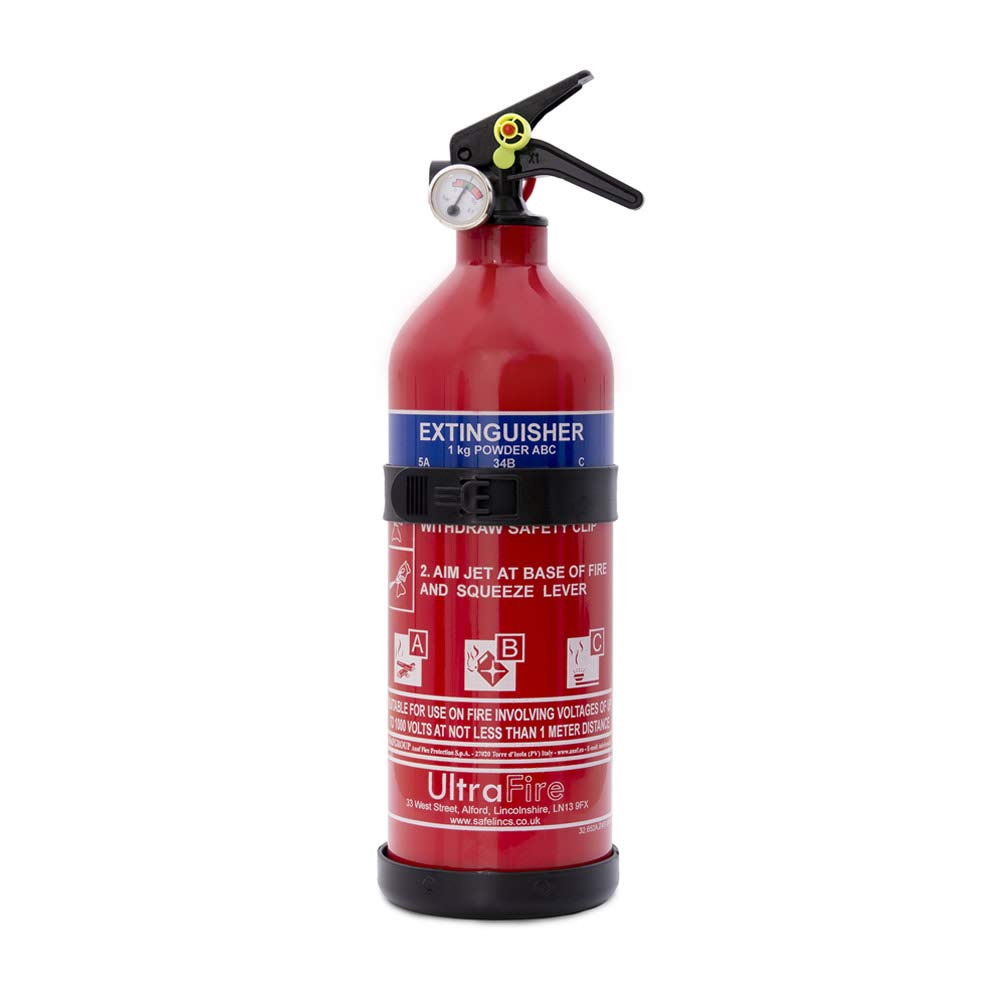UltraFire 1kg Powder Fire Extinguisher