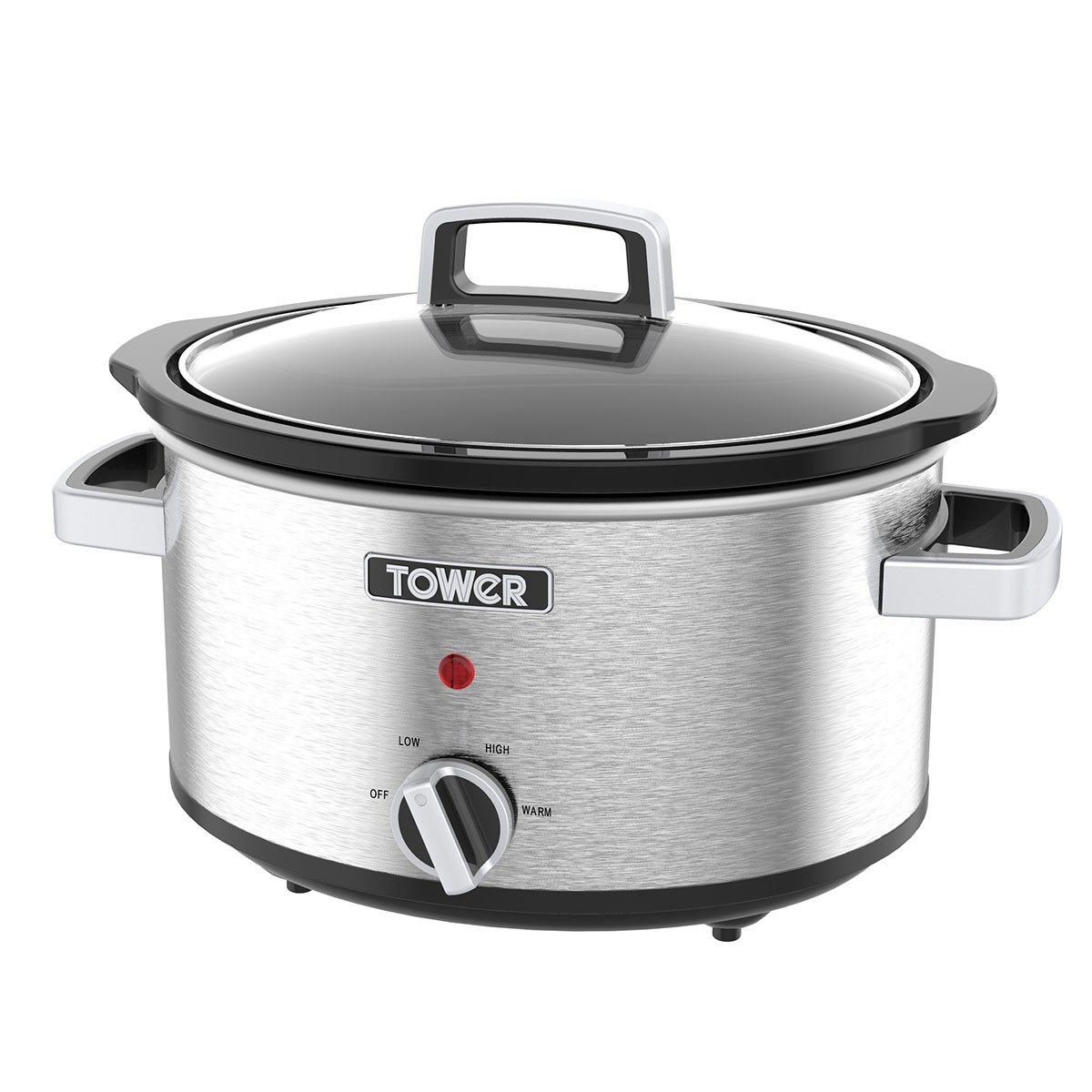 Tower T16018 3.5L Stainless Steel Slow Cooker for £14.99 on Robert Dyas (C&C)