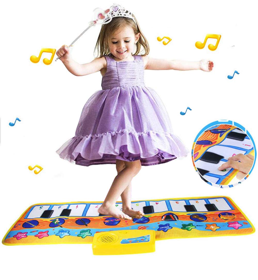 Kids Floor Piano Mat Keyboard Carpet Dance Mat