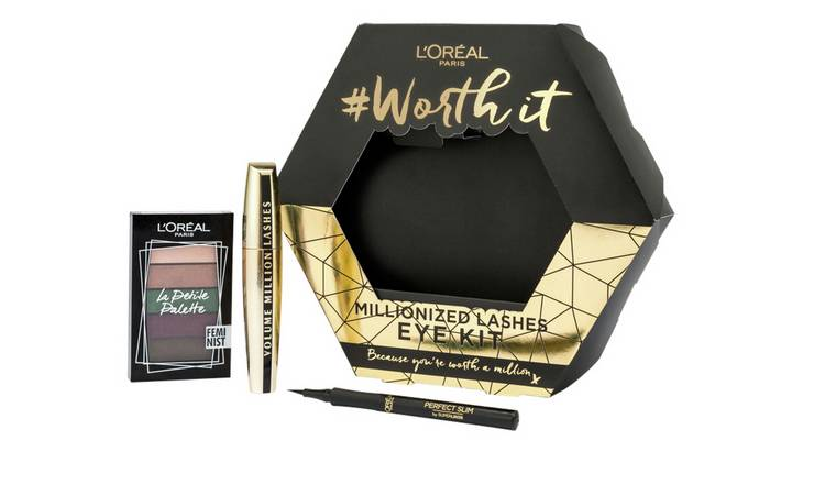 L'Oreal Worth a Million Eye Three Piece Make-up Gift Set