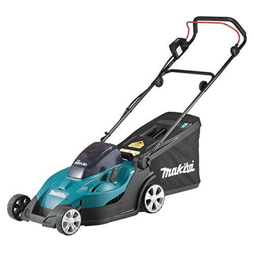 83% off Makita Twin 18v / 36v LXT Cordless 43 Centimeters Lawn Mower Bare Unit