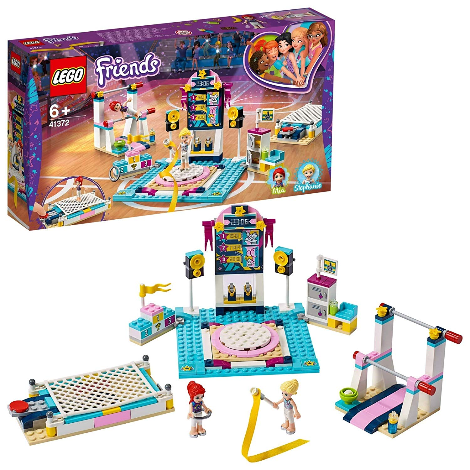 LEGO 41762 Friends Stephanie's Gymnastics Show Playset