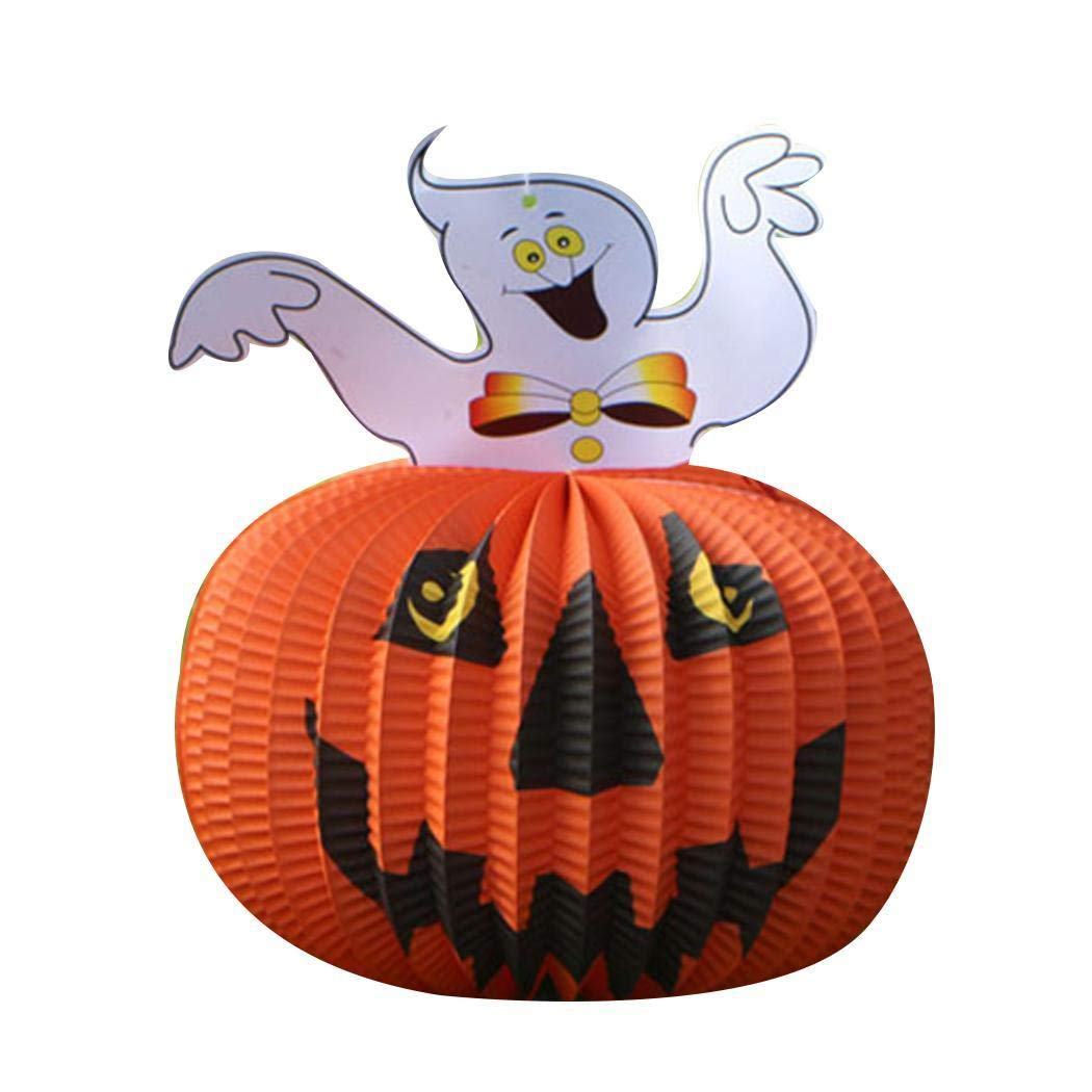 80% off Cartoon Shape Hanging Paper Lantern Halloween Hanging Decoration