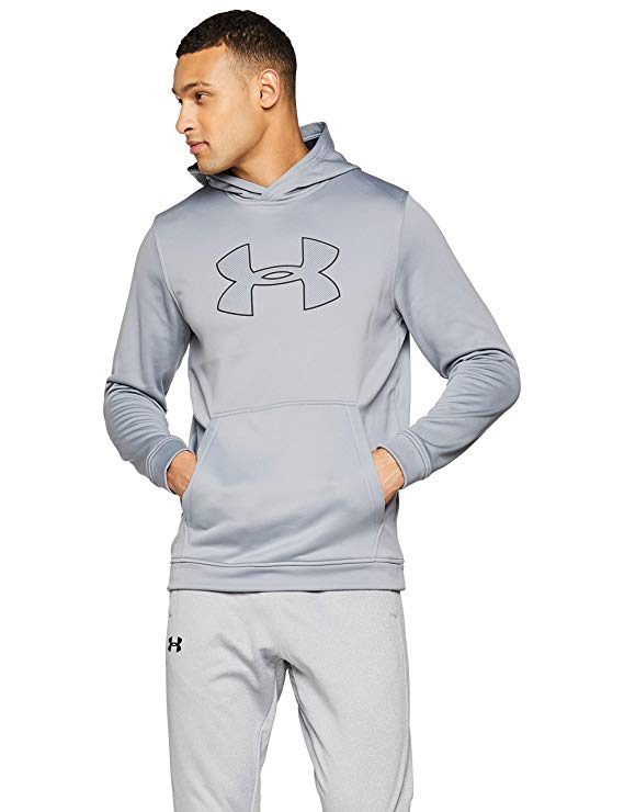 Under Armour Men's Performance Fleece Graphic Hoody Warm-up Top