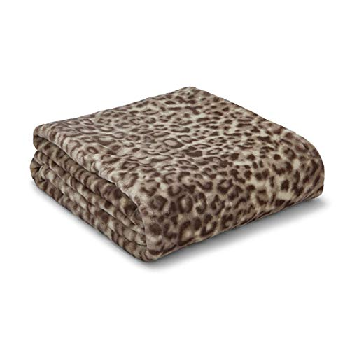 Catherine Lansfield Animal Print Throw 130x170cm