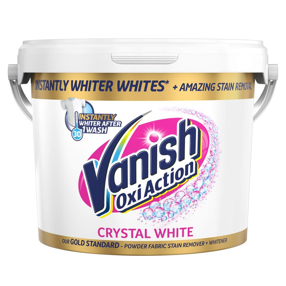 Vanish Gold Fabric Stain Remover Oxi Action Powder – 2.4kg for £10.67