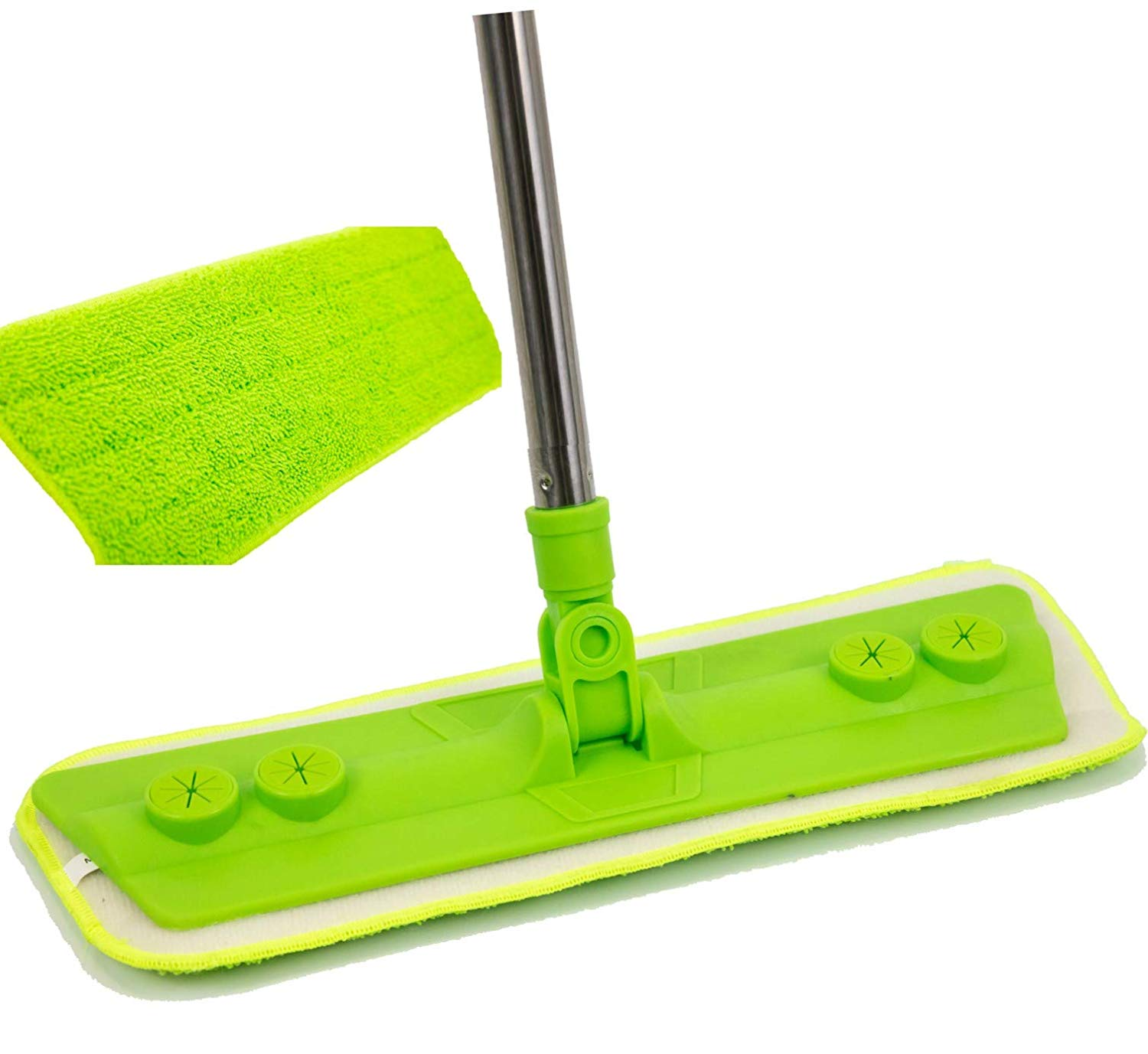 Microfibre Mop with Washable Removable Cleaning Pad