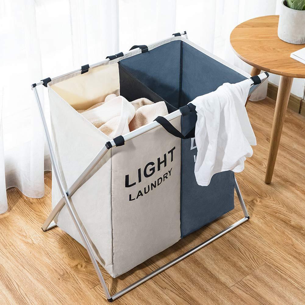 Qingxian Laundry Basket 2 Compartments