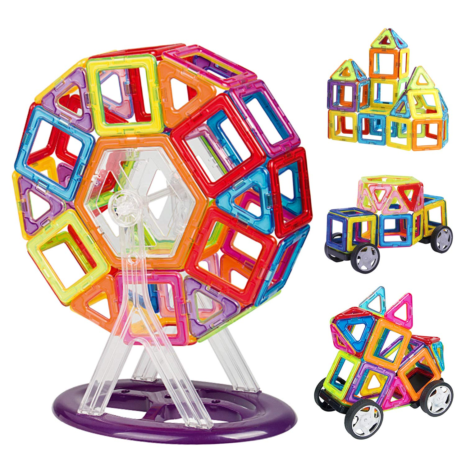 INTEY Magnetic Building Blocks(66PCS)