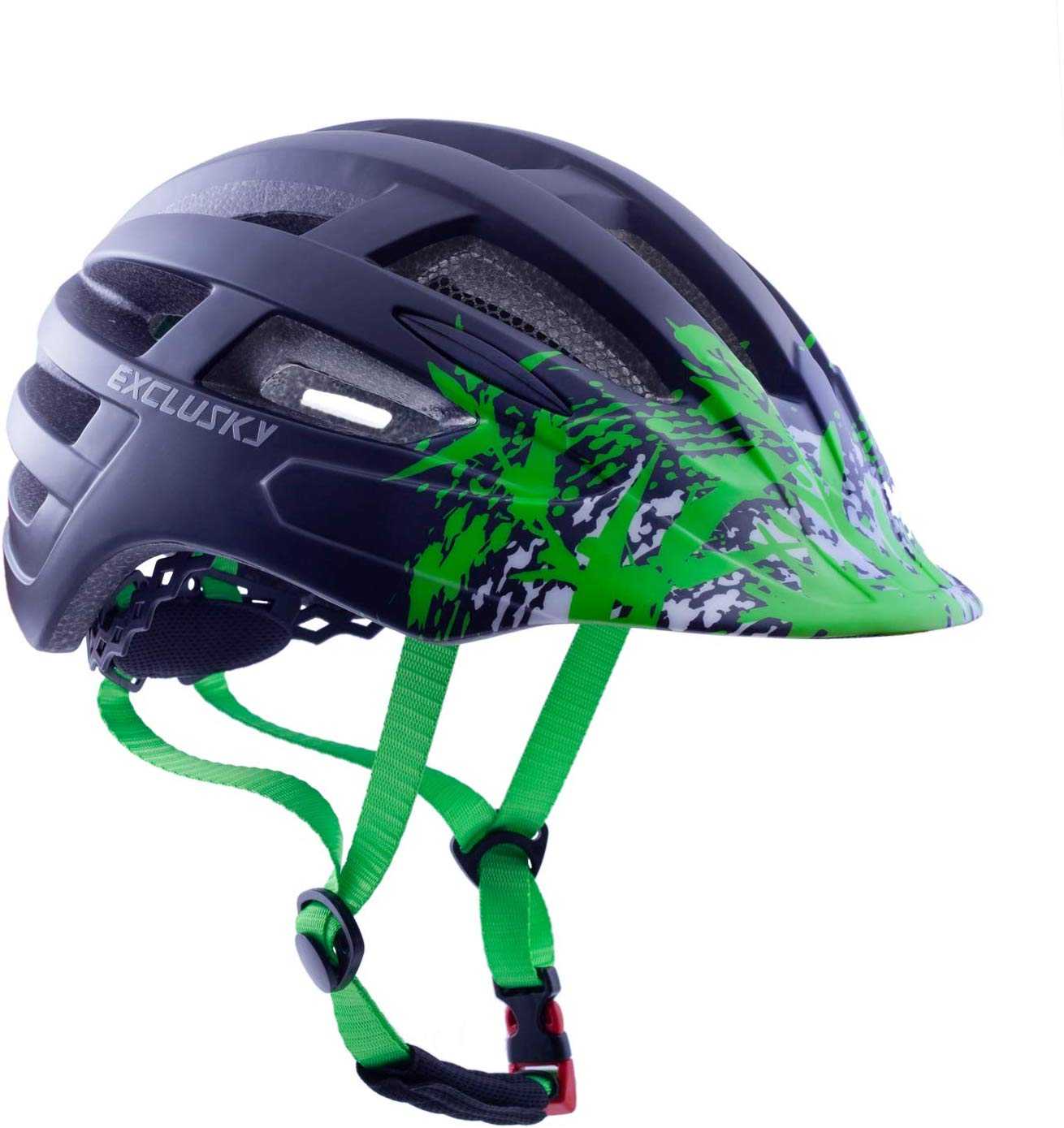 Exclusky Cycle Helmet CE Certified Adjustable Lightweight Bike Bicycle Helmets