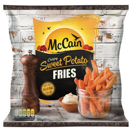 McCain Crispy Sweet Potato Fries 500g 2 for £3