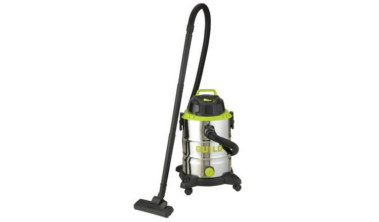 Guild 30L Steel Drum Wet and Dry Vacuum Cleaner – 1500W on Argos