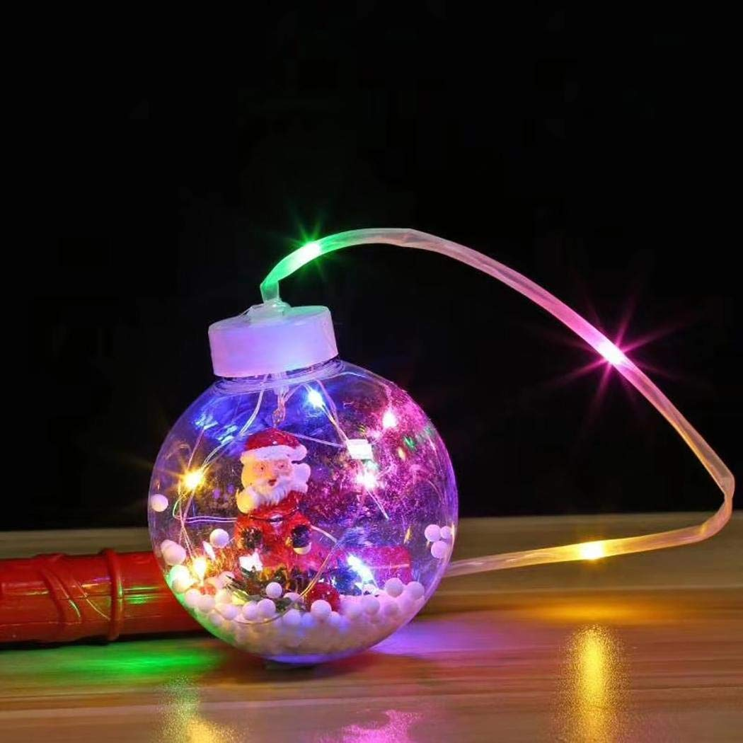 80% off Children Portable Luminous Colorful Ball Lanterns Halloween Christmas Party Supplies