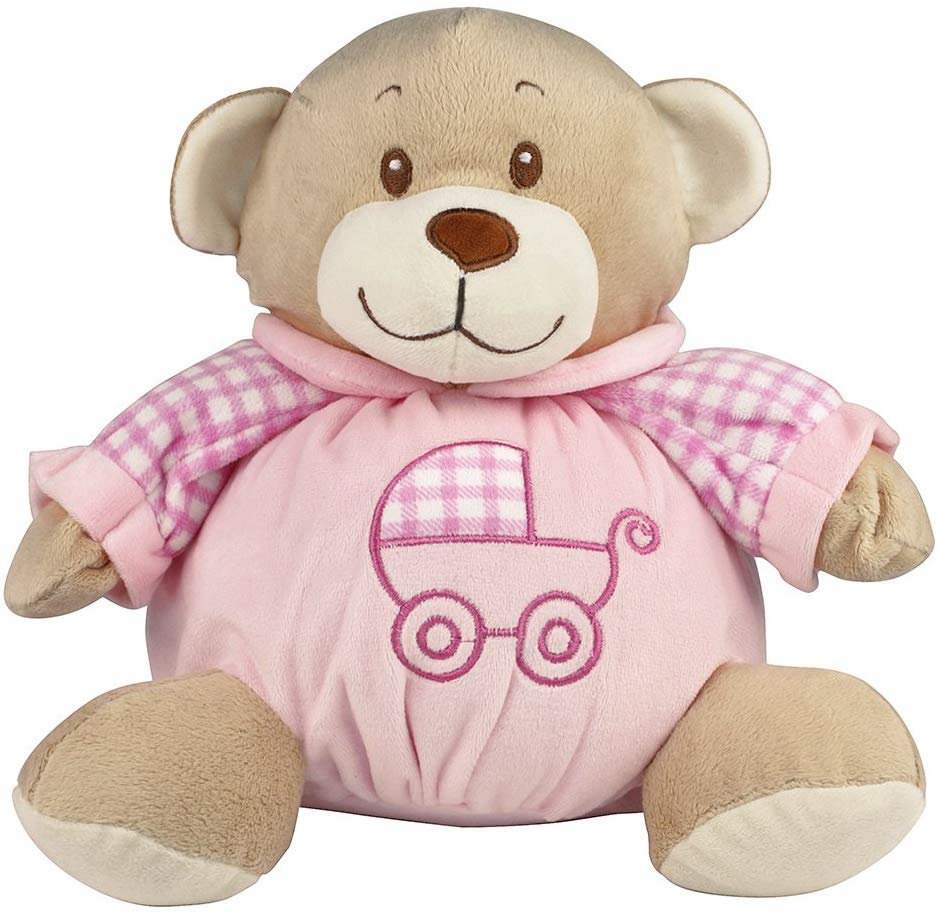 eBuyGB Tubby My First Baby Plush Bear, Pink, 10″ – £2.99 FREE delivery