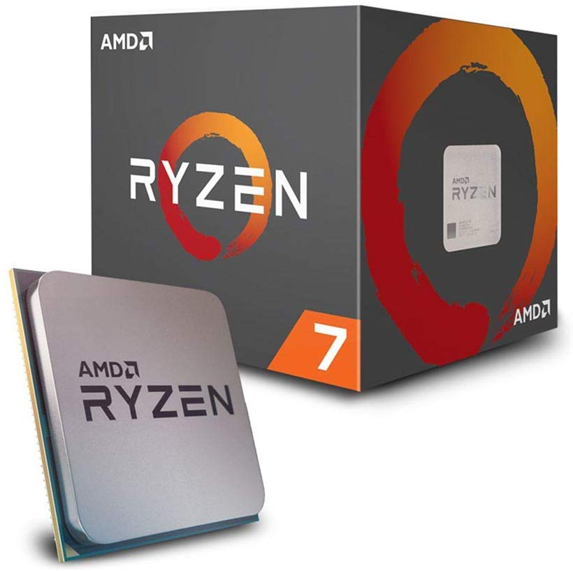 AMD Ryzen 7 2700 Processor with Wraith Spire RGB LED Cooler FREE delivery
