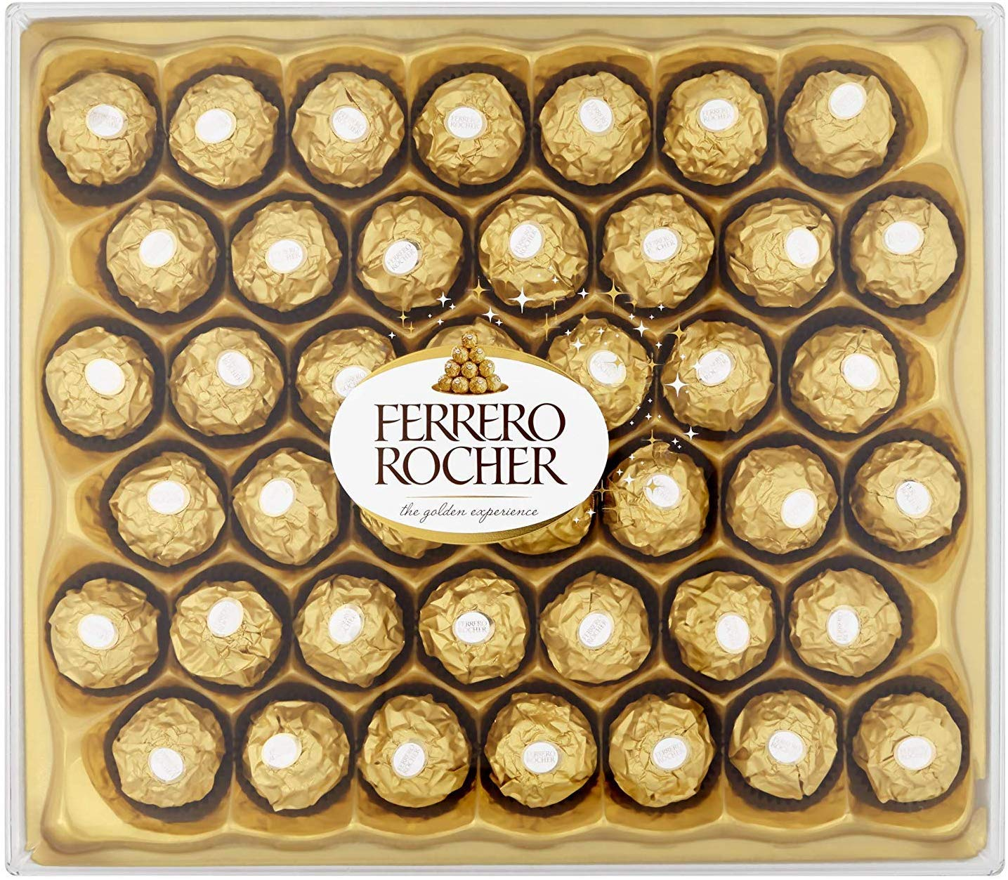 Ferrero Rocher Chocolate Gift Set,Box of 42 Pieces £10.5