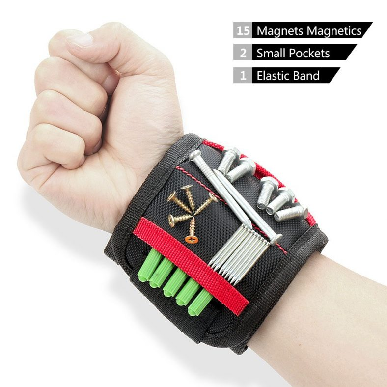 70% off Magnetic Wristband with 15 Powerful Magnets