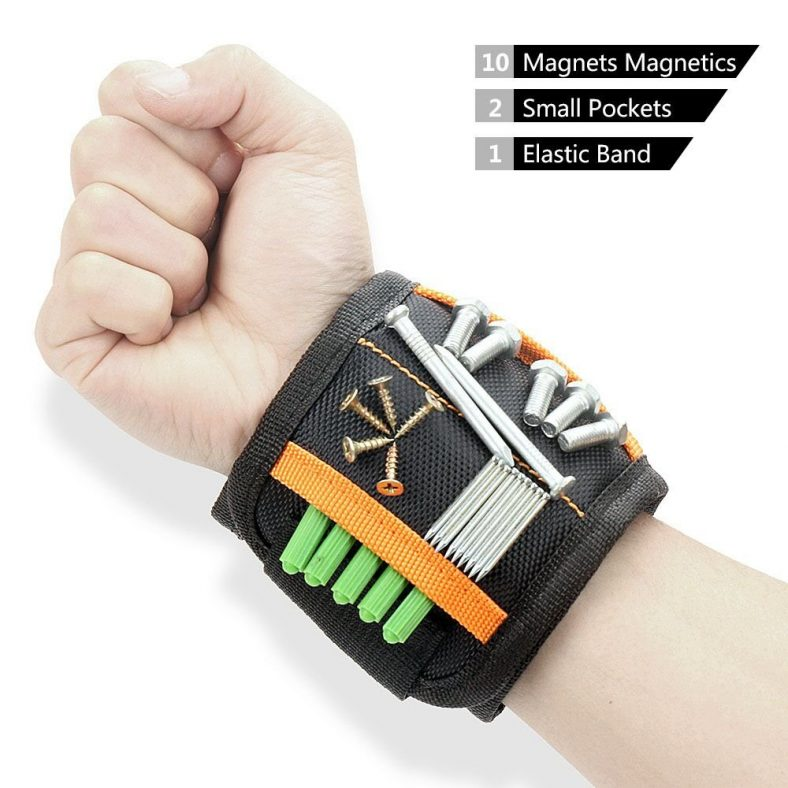 70% off Magnetic Wristband with 10 Powerful Magnets