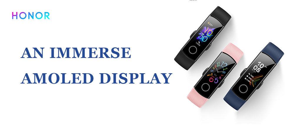 Free Huawei Honor Band 5 Smart Bracelet x1