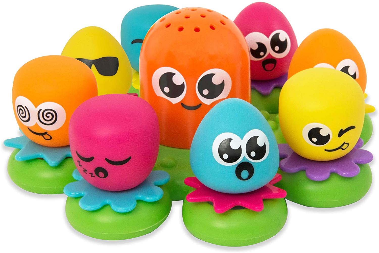 TOMY Toomies Octopals Number Sorting Baby Bath Toy