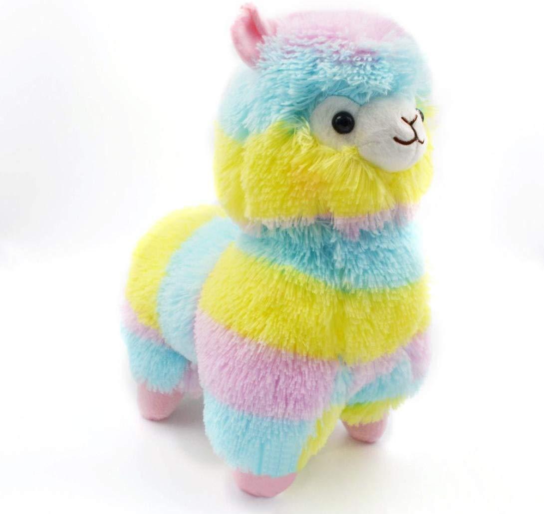 18CM Colorful Alpaca Llama  Soft Toy Doll