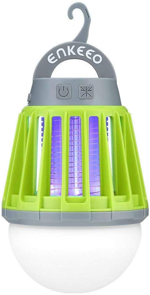 ENKEEO Camping Lantern Mosquito Zapper Tent Light