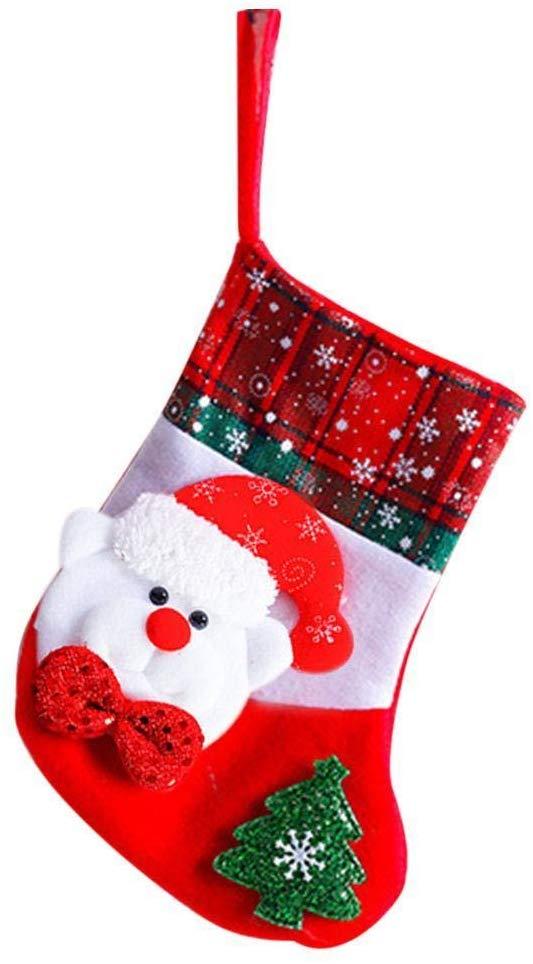 80% off Christmas Decorations Socks Christmas Tree Pendant Gift Bags