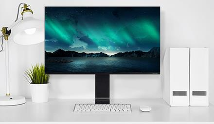Win a 32′ 4K full HD Samsung Space Monitor