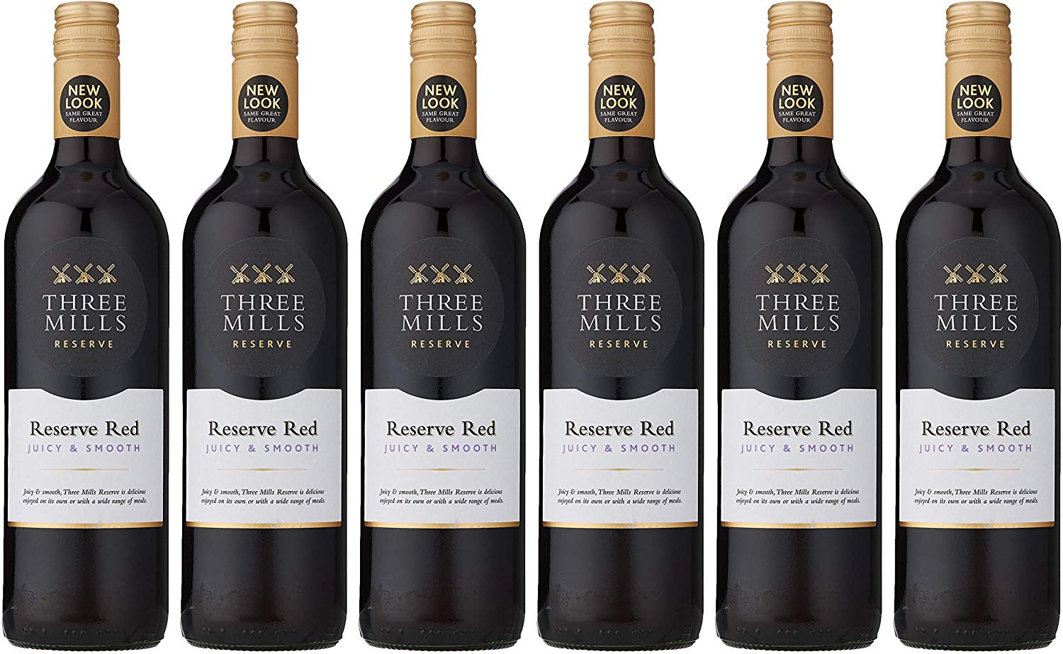 Three Mills Reserve Red Wine, Case of 6 x 75 cl