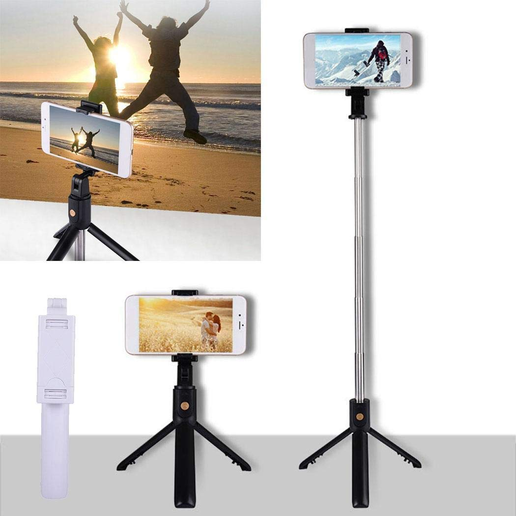 80% off Wireless Bluetooth Selfie Stick Foldable Monopod Shutter Remote Mini Tripod