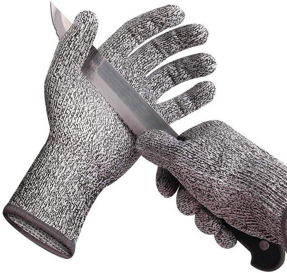 Suzaku Anti-cut Gloves Cut Proof Stab Resistant Kitchen Work Safety Gloves Gripper