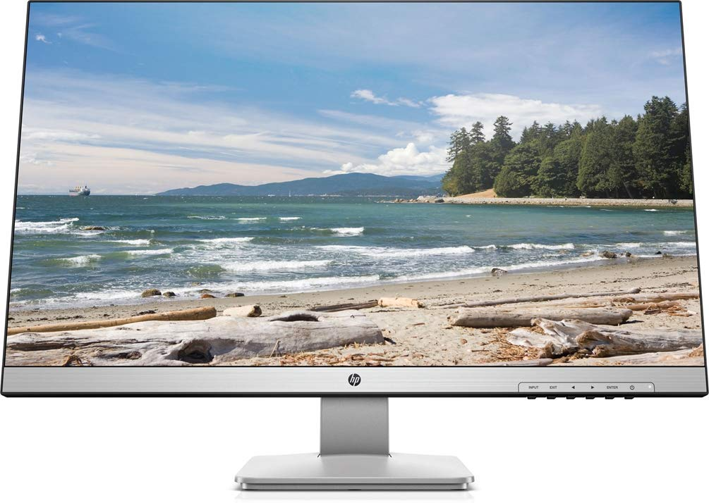 HP 27q Display Quad HD 27 Inch Monitor (2 ms, 1 Display Port 1.2, 1 DVI-D, 1 HDMI 1.4)