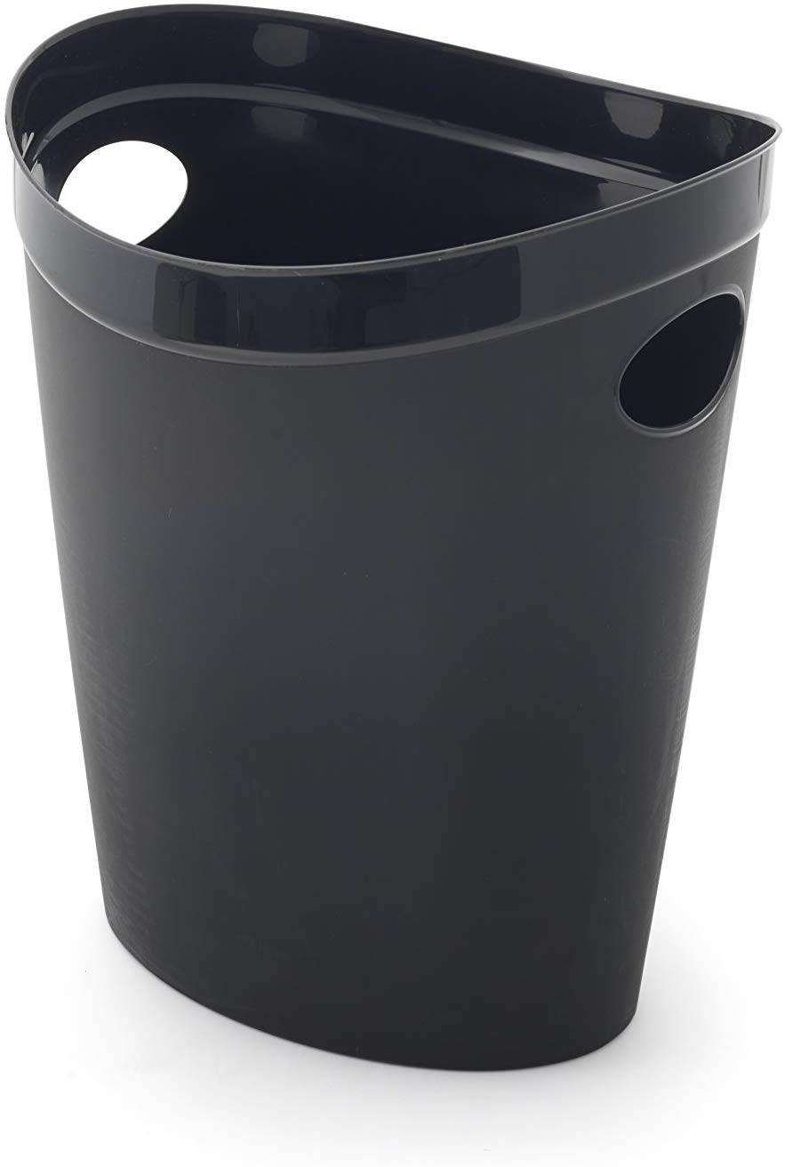 Addis Plastic Waste Paper Bathroom Bedroom Office Bin, 12 litre(add on item)