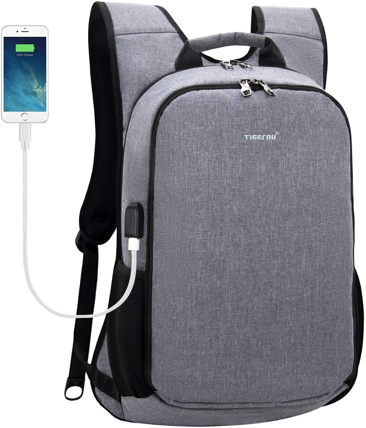 TIGERNU Laptop Backpack for 15 15.6 Inch Laptops Notebook