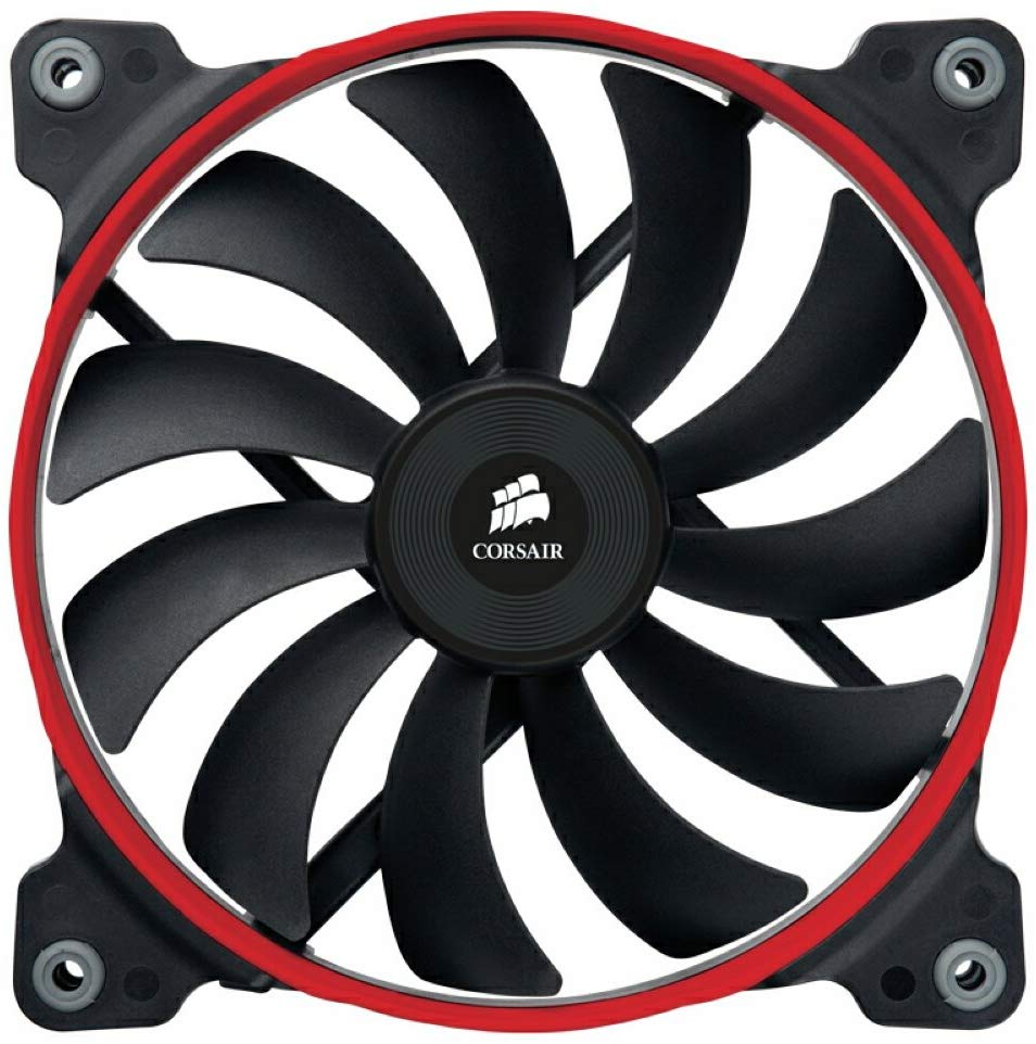 Corsair Air Series AF140 Quiet Edition 140mm Low Noise High Airflow Fan Single Pack