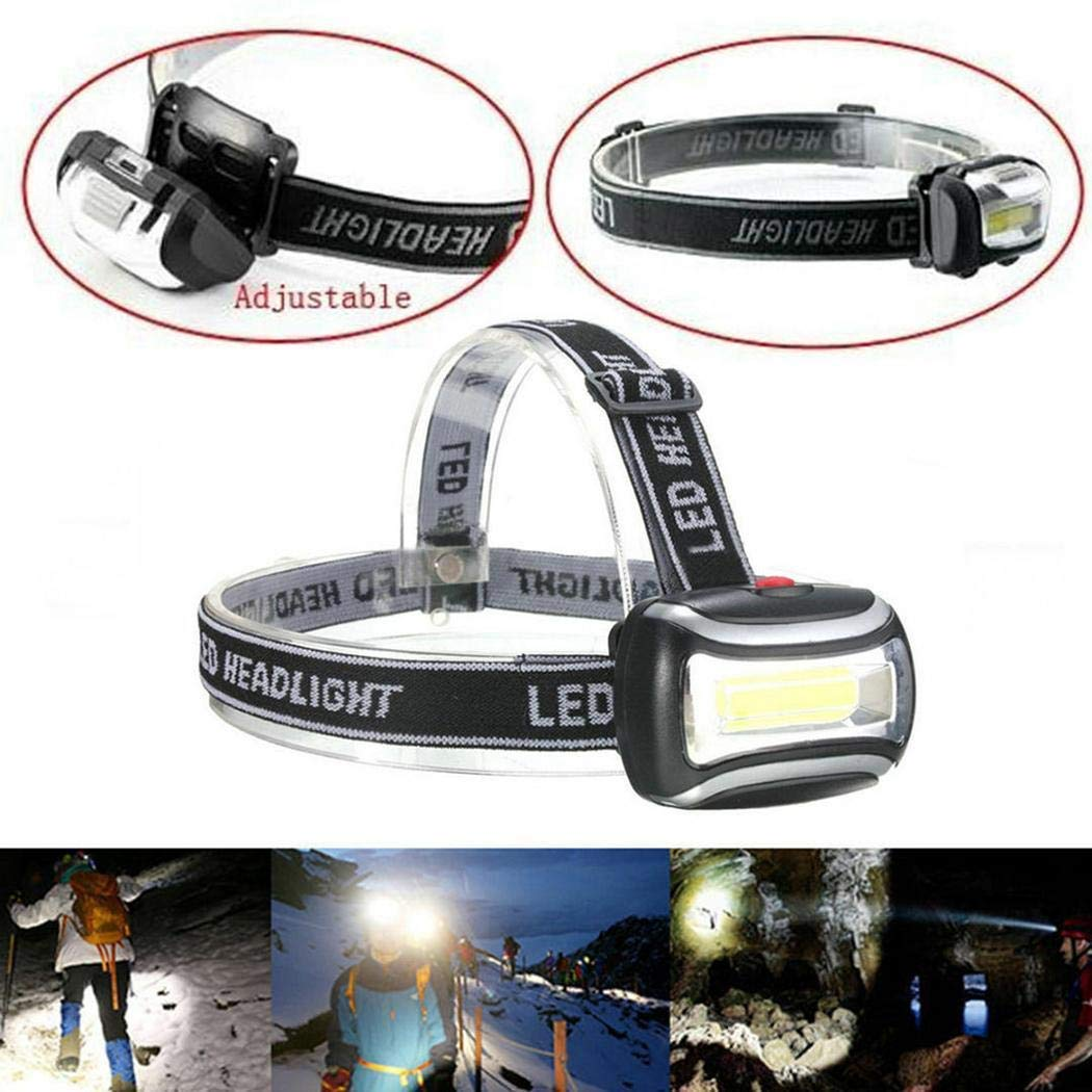 80% off LED Head Torch, Super Bright Headlamps with 3 Modes