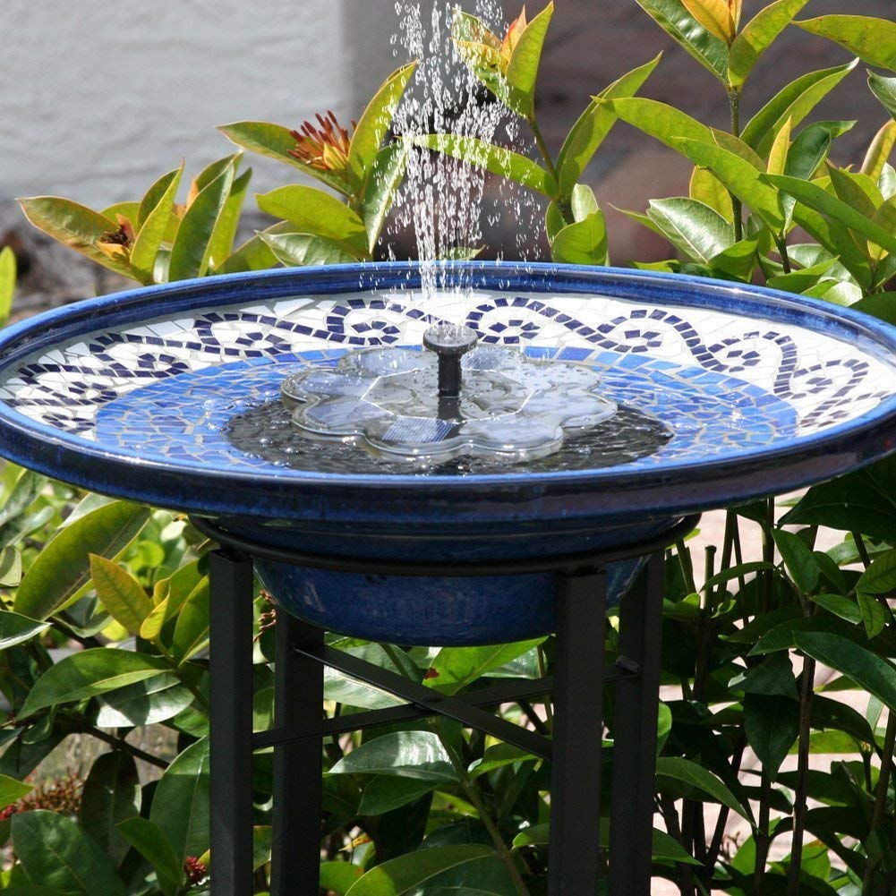 TekHome 2019 NEW Solar Water Fountain