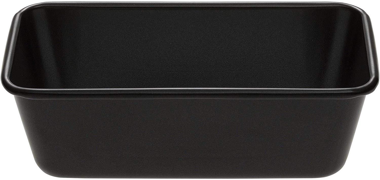 Prestige Inspire Steel 1 lb Loaf Tin – Black (W20 x D10.5 x H6.5 cm) 25 year guarantee