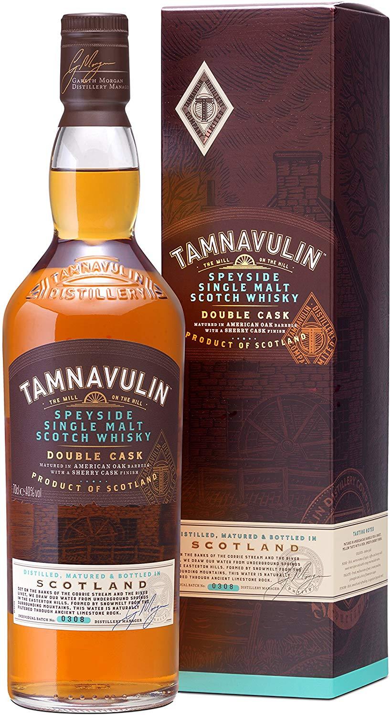 Tamnavulin Speyside Single Malt Scotch Whisky – Double Cask, 70 cl