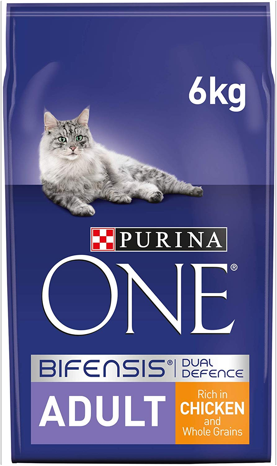 Purina ONE 1+ Cat Food Chicken & Wholegrains 6kg