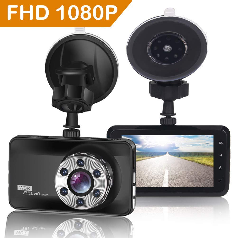 ORSKEY Dash Cam 1080P Full HD Car Camera DVR Dashboard Camera Video Recorder In Car Camera Dashcam