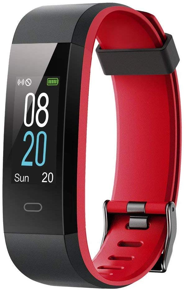 YAMAY Fitness Trackers,Colour Screen Fitness Watch Waterproof IP68 Fitness Tracker