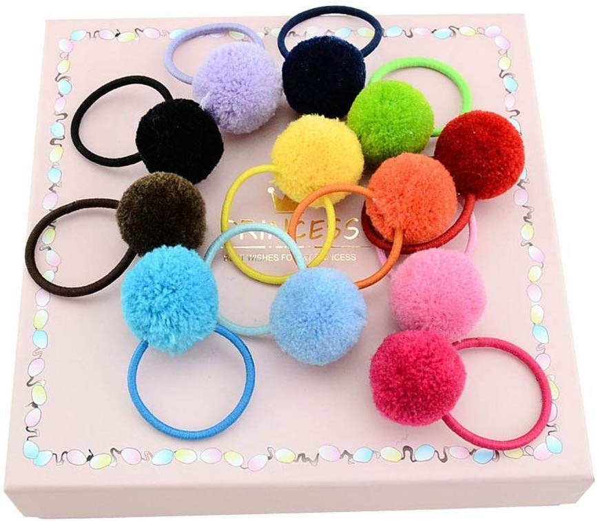 80% off  12 Pcs/Set Kids Girl Hair Ties