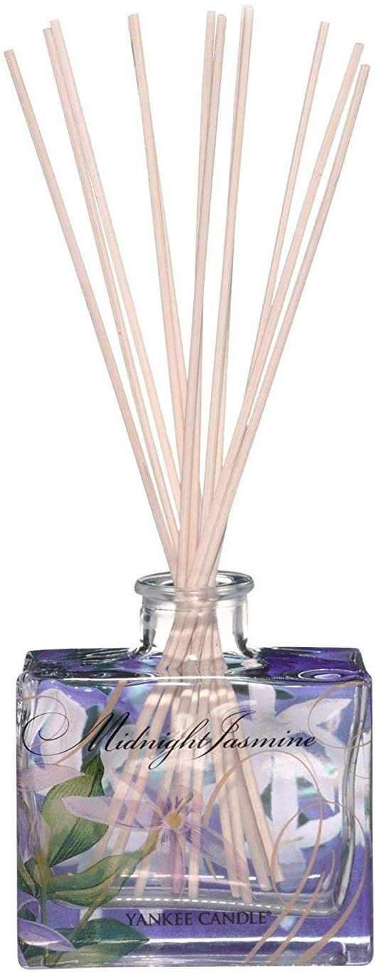 Yankee Candle Signature Reed Diffuser, Midnight Jasmine, Up to 8 Weeks of Fragrance
