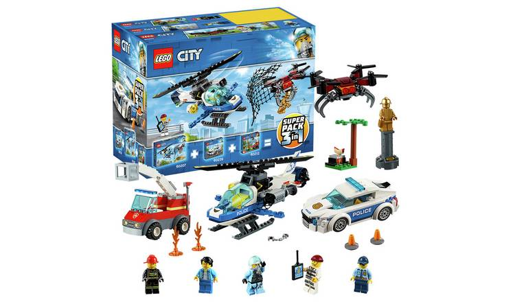 Half Price LEGO City Police 3 in 1 Super Pack