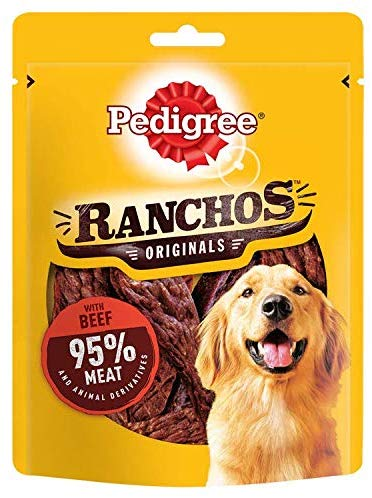 Tender Dog Treats with Beef, 7 Bags (7 x 70 g)